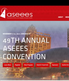 Five assistants of the Scientific Centre of Excellence at the 49th Annual ASEEES Convention held from 9 to 12 November 2017 in Chicago